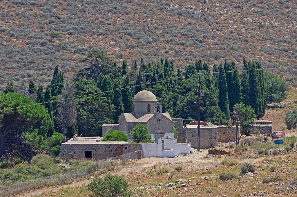 Einsames Kloster