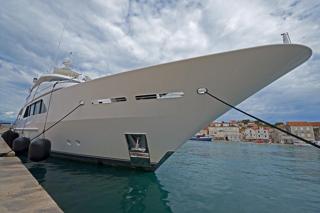 Millionen-Yacht