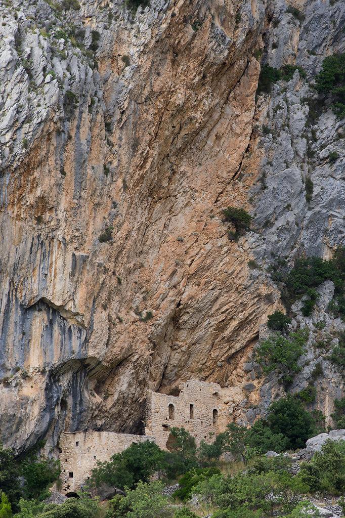 Reste einer Festung