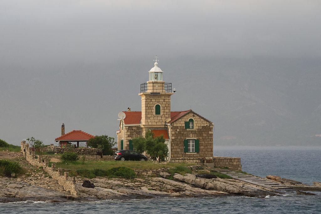 Leuchtturm Insel Hvar