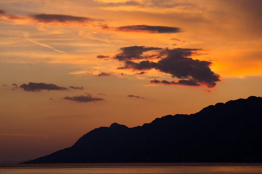 Sonnenuntergang Baska Voda