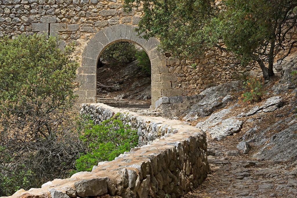 Eingang zur Festung Alaro