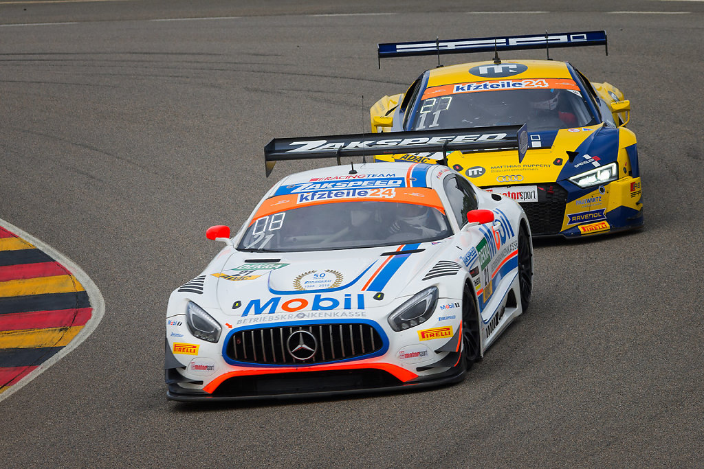 Mercedes AMG GT3 vs. Audi R8 LMS