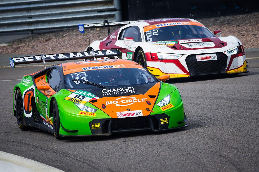 Lamborghini Huracán GT3 vs. Audi R8 LMS